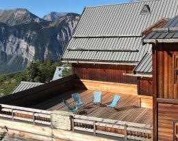 Le Dénali avec une très grande terrasse de 70 m2