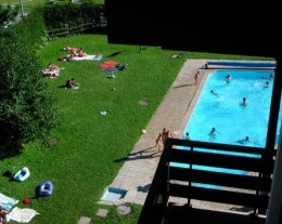 Appartement Les Contamines avec piscine privative