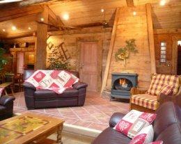 Au Bon Vieux Temps - Chalet 5 étoiles - Sauna, 2 Jacuzzis (intérieur et extérieur)