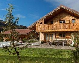 Chalet confortable avec spa et sauna au pays du Mont Blanc