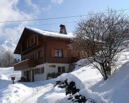 Chalet les Pastourelles, Vue sur massif du Mont Blanc