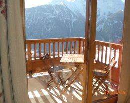Les Alpages de Bisanne - vue sur le Mont Blanc