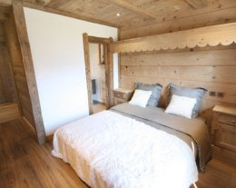 Chalet Cocoon, demeure de luxe en vieux bois avec espace wellness