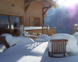 CHALET   EDELWEISS, calme, vue panoramique