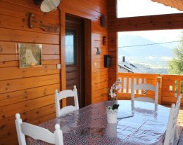 """Chalet """" Le Samoyede"""" /Sauna : 10 couchages"""