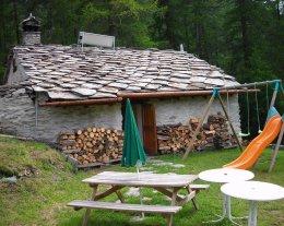 chalet Chantelouve, Parc de  la Vanoise, Haute Maurienne, Bessans/LANSLEVILLARD