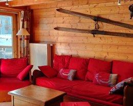 Duplex 3 cbres pour 6P - ALPAGES DU CHANTEL -  skis aux pieds