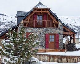 Chalet de caractère grand confort, & SPA avec vue 360° sur la Vallée d'Aure - Le Pla d'Adet