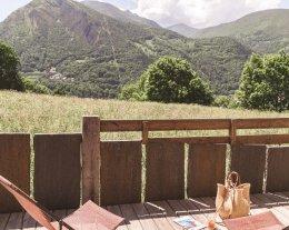 Chalet de caractère grand confort, & SPA avec vue 360° sur la Vallée d'Aure - Le LUSTOU