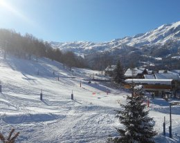 Triplex au coeur des Trois Vallées, ski aux pieds, piscine sauna hammam