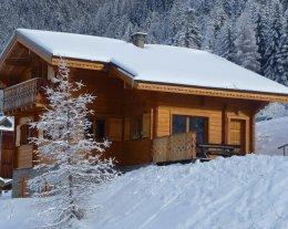 Chalet l'AROLAY, Chalet  individuel en bois, grand confort, skis aux pieds, accés direct à la piste de ski