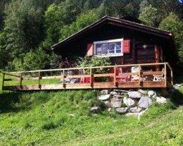 chalet de charme dans Chamonix avec vue panoramique sur le Mont Blanc