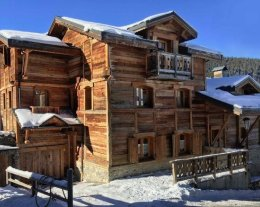 CHALET ANTARES LODGE**** / Spa & Sauna/ WiFi/ Courchevel