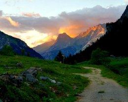 Chalet d'été /bergerie d'alpage. Les Prioux. Pralognan