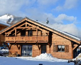 chalet l'Authentique 4* MORZINE 10 personnes
