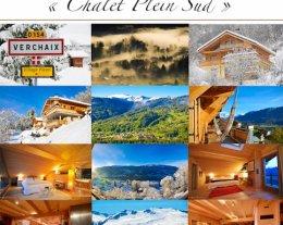 "Chalet ""Plein sud"" (14-18 pers) Station SKI Vue Panoramique"