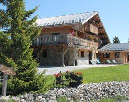 Chalet la Louvière - Petit Loup - 55m2 (6 pers.) - Skis aux pieds et piscine été