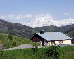 LE MEGEVAN Chambres et table d'hôtes et CAMPING en Alpage à 1550M.