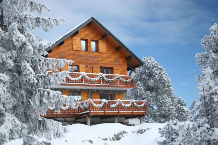 Location chalet de luxe mountain lodge chalet 5 toiles au - Chalet de montagne luxe rkd architecte ...