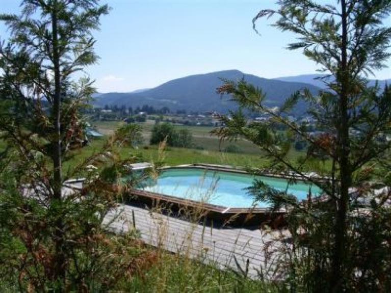 Location chalet de luxe chalet les castors avec piscine for Piscine villard de lans