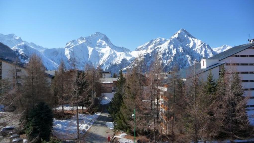 Location appartement de luxe residence cote brune 2 q3 sur le plan de la station les deux - Residence de luxe montagne locati ...