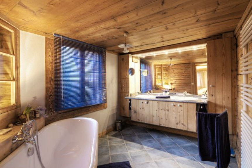 Location chalet de luxe chalet cashmere spirit meubl de for Meuble 5 etoile junior