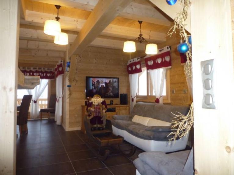 Location Chalet De Luxe Chalet De Standing L 39 Etagne Avec Spa Sauna Et Balneo Chatel 11816